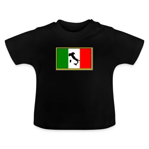 Bandiera Italiana2 - Maglietta per neonato
