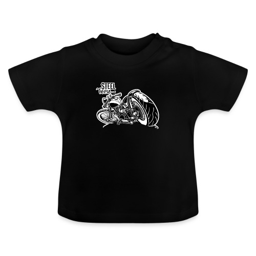 0894 STEEL HORSE - Baby T-shirt