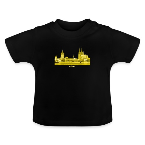 Köln Dom Rhein Nordrhein-Westfalen Deutschland - Baby T-Shirt