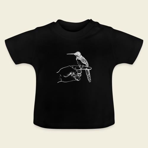Kolibri auf der Hand - Baby T-Shirt