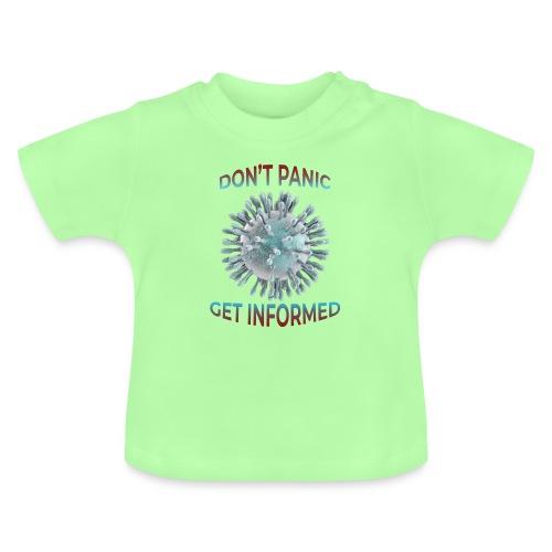 coronavirus - Camiseta bebé