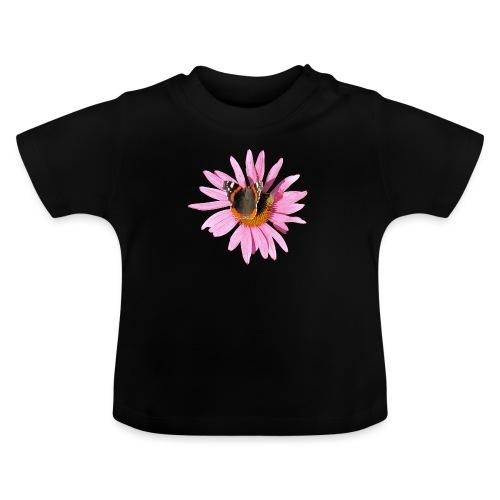 TIAN GREEN Garten - Sonnenhut Schmetterling - Baby T-Shirt