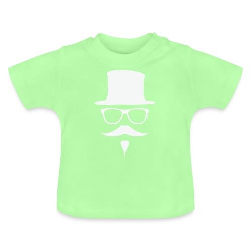 Moustachu White (H) - T-shirt Bébé