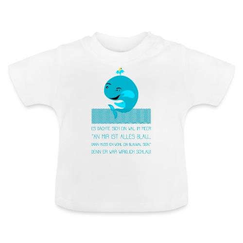 Blauwal - Baby T-Shirt