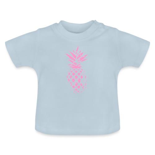 ananas rose - T-shirt Bébé