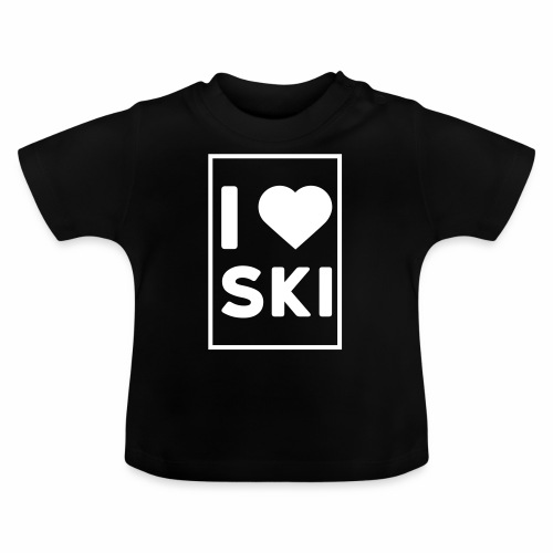 I love ski - T-shirt Bébé