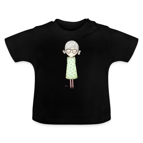 meisje met bril - Baby T-shirt