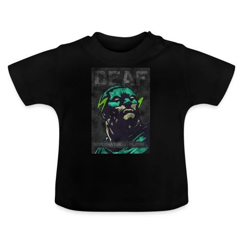 Deaf Supernatural Alarm Vintage - Baby T-Shirt
