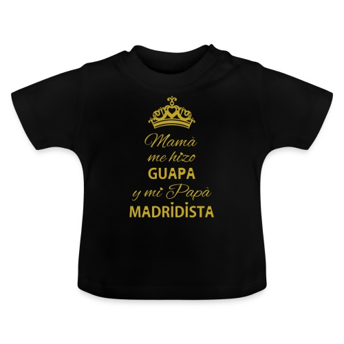 Guapa Madridista - Maglietta per neonato