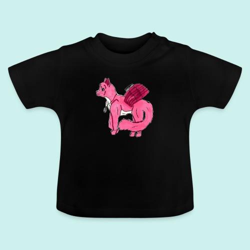 pink_cat_ei_taustaa - Vauvan t-paita
