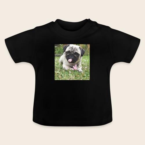 Mops Wiese - Baby T-Shirt