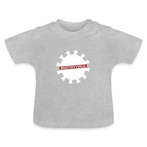 NotMyVirus White - T-shirt Bébé