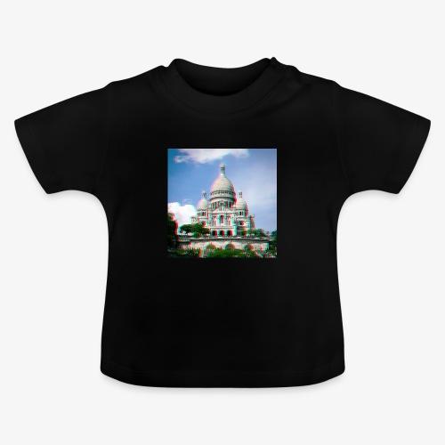 SacreCoeur Anaglyph - Baby T-Shirt