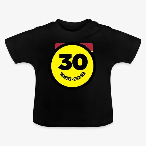 30 Jaar Belgian New Beat Smiley - Baby T-shirt