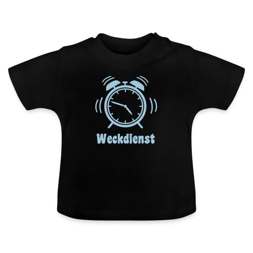 Weckdienstn Wecker einfarbig Baby - Baby T-Shirt