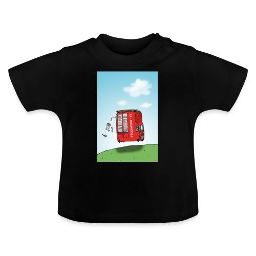 Feuerwehrwagen - Baby T-Shirt