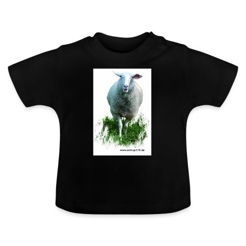 Gemaltes Entrup Schaf - Baby T-Shirt
