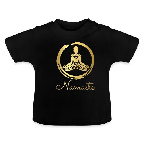 Namaste Meditation Yoga Sport Fashion - Baby T-Shirt