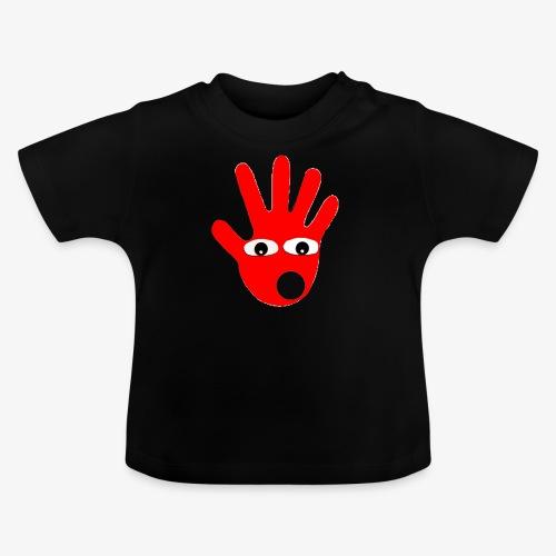 Hände mit Augen - T-shirt Bébé