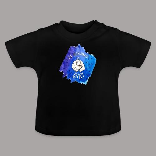 shirt blau tshirt druck - Baby T-Shirt