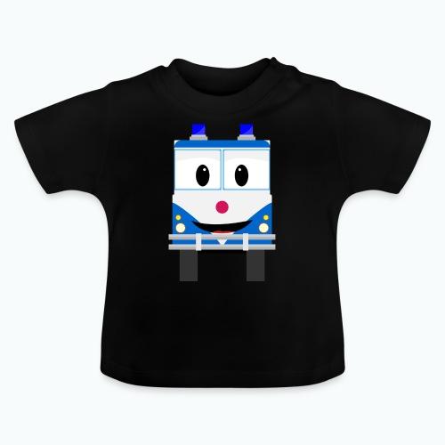 Bobo Police - Appelsin - Baby-T-shirt