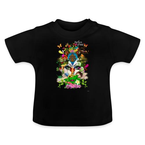 Parfum d'été by T-shirt chic et choc (tissu foncé) - T-shirt Bébé