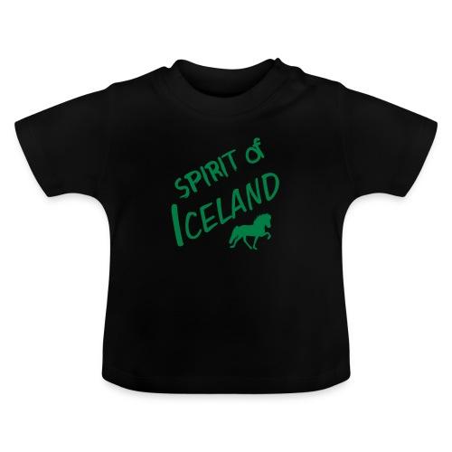 4gaits ruecken - Baby T-Shirt