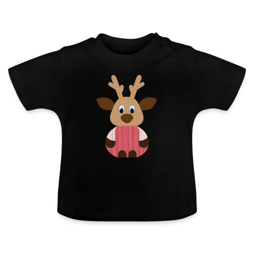 Elch Strick - Baby T-Shirt