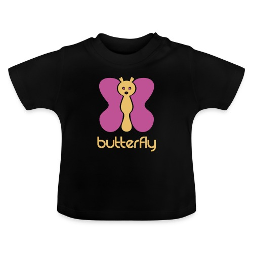 BUTTERFLY = MARIPOSA - Camiseta bebé