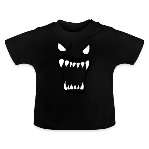 Monsters running wild - Baby-T-shirt