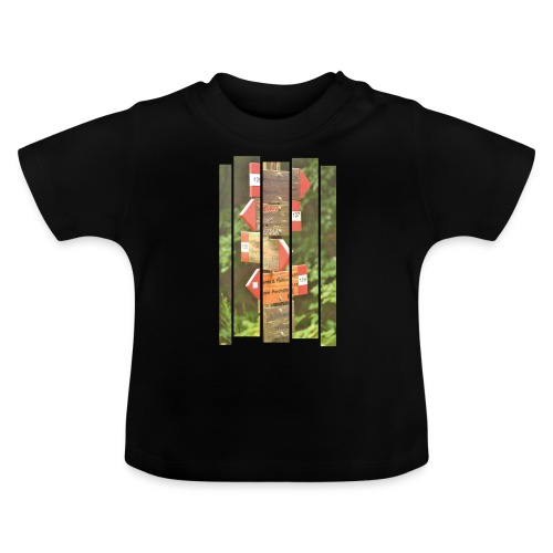 De verwarde hike - Baby T-shirt