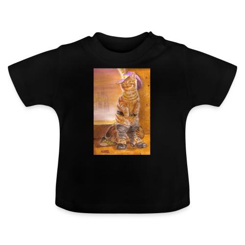 gatto_con_gli_stivalI - Maglietta per neonato