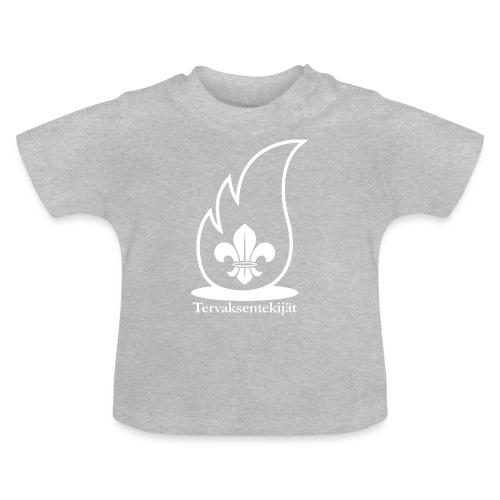 Valkoinen lieska - Vauvan t-paita