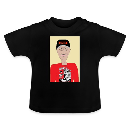 French skater DJ AM - Baby-T-shirt