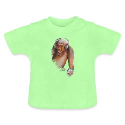 Singe old fashion - T-shirt Bébé
