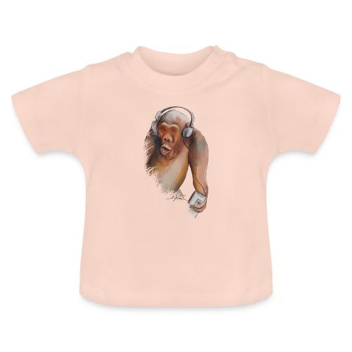 Singe old fashion - T-shirt Bébé