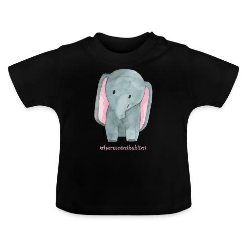 hermosos bebitos elefantito - Camiseta bebé