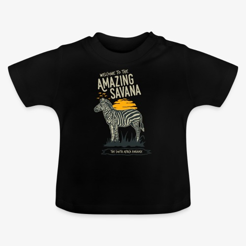 Zèbre - T-shirt Bébé