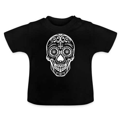 Skull white - Baby T-Shirt