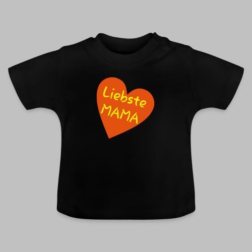 Liebste Mama - Auf Herz ♥ - Baby T-Shirt