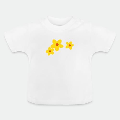 Three Flowers - Baby T-Shirt