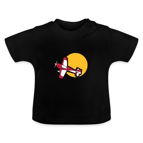 Flugzeug Jet Airplane Sky Himmel Sun Sonne Sport - Baby T-Shirt