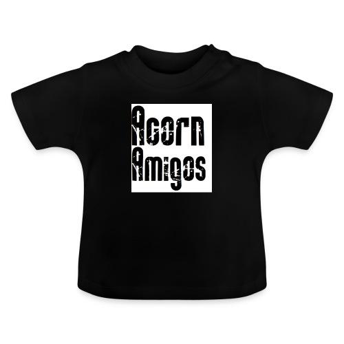 acorn amigos badge - Baby-T-shirt