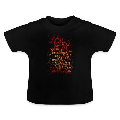 Åndens frukt - Baby-T-skjorte