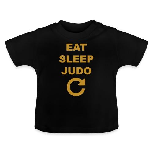 Eat sleep Judo repeat - Koszulka niemowlęca