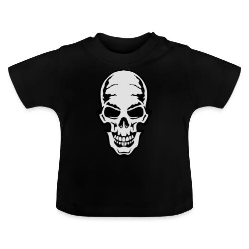 gothic gothique tete mort skull dead 106 - T-shirt Bébé