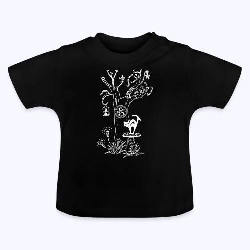 PsyTreeTwo white - Baby T-Shirt