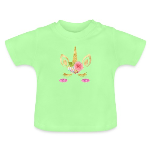 unicorn face - Baby T-Shirt