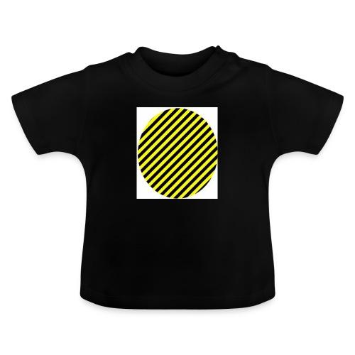varninggulsvart - Baby-T-shirt