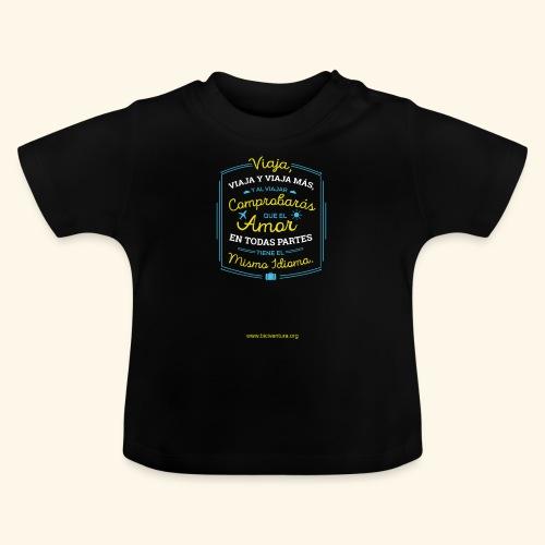 VIAJA - Camiseta bebé
